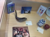 Shofar in the display case