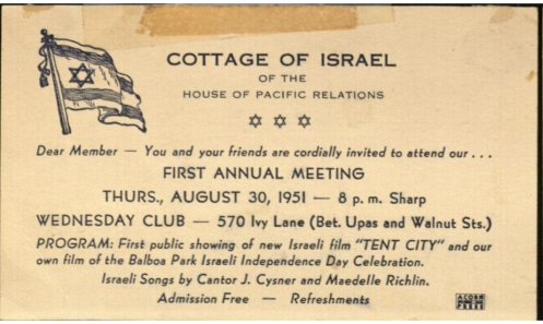 1951 1952 Annual Meeting