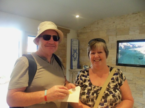 Guests from Scotland Visit the House of Israel.