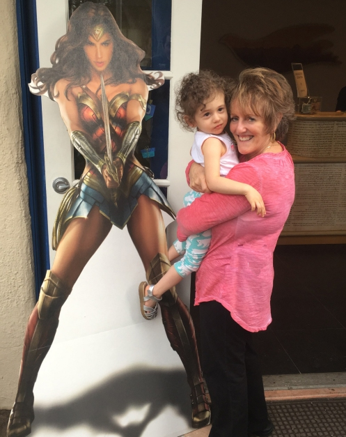 aviva and wonder woman copy